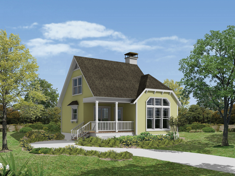 Cottage-Style, Appealing And Cozy