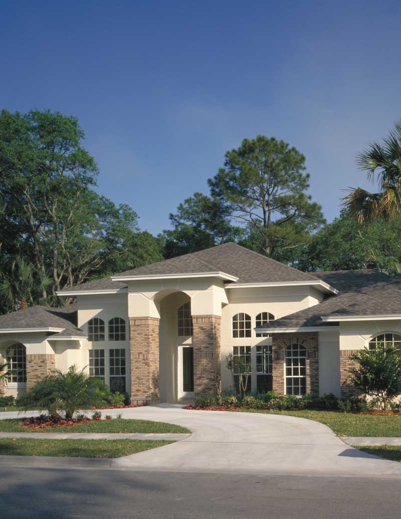 Italian House Plan Front Photo 02 - Palm Aire Adobe Style Home 047D-0046   House Plans and More