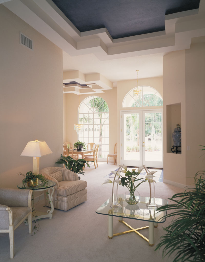 Spanish House Plan Foyer Photo - Siesta Hill Florida Style Home 047D-0048 | House Plans and More