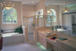 Spanish House Plan Master Bathroom Photo 01 - Siesta Hill Florida Style Home 047D-0048 | House Plans and More