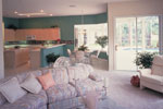 Spanish House Plan Nook Photo - Siesta Hill Florida Style Home 047D-0048 | House Plans and More
