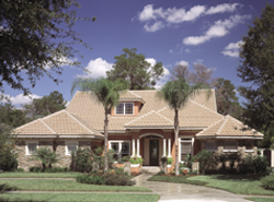 Southwestern House Plans Front of House 047D-0052
