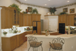 Spanish House Plan Kitchen Photo 01 - Juliana Luxury Home 047D-0056 | House Plans and More