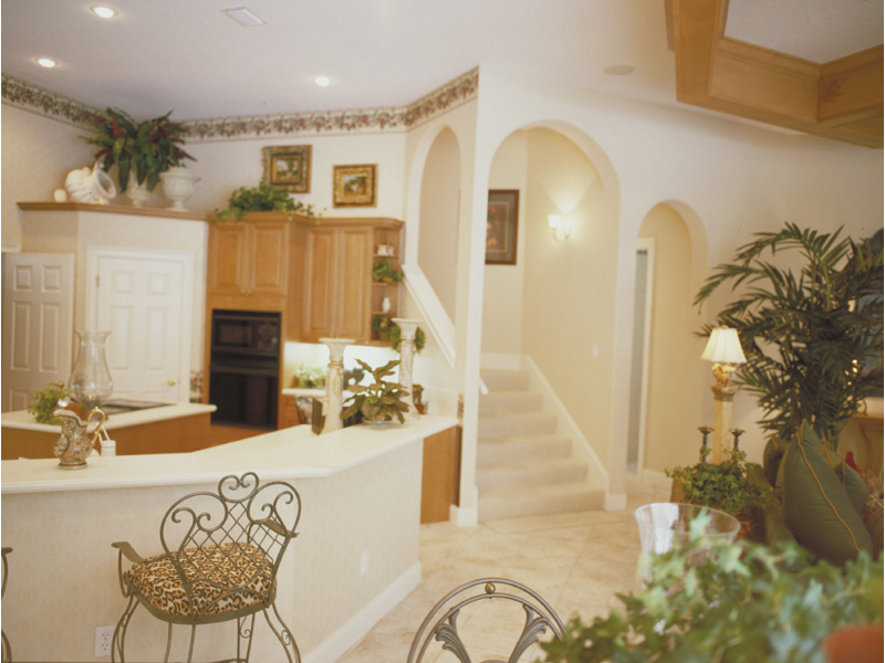 Spanish House Plan Kitchen Photo 02 - Juliana Luxury Home 047D-0056 | House Plans and More
