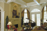 Spanish House Plan Living Room Photo 02 - Juliana Luxury Home 047D-0056 | House Plans and More