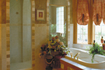 Spanish House Plan Master Bathroom Photo 02 - Juliana Luxury Home 047D-0056 | House Plans and More
