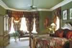 Spanish House Plan Master Bedroom Photo 01 - Juliana Luxury Home 047D-0056 | House Plans and More