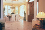 Country French House Plan Foyer Photo - Lawton Place European Home 047D-0058   House Plans and More