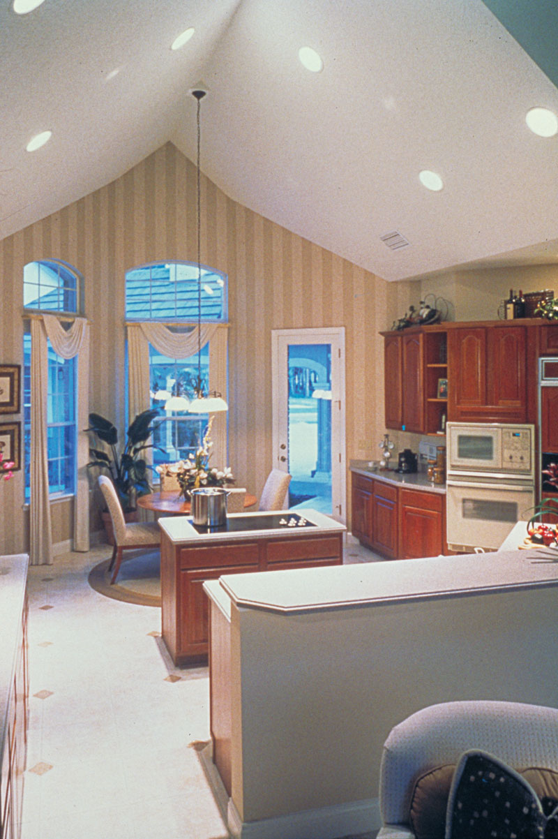 Country French House Plan Kitchen Photo 01 - Lawton Place European Home 047D-0058   House Plans and More