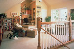 Country French House Plan Loft Photo 01 - Lawton Place European Home 047D-0058   House Plans and More