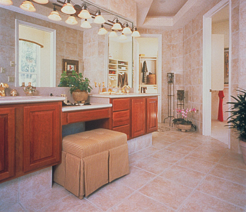 Country French House Plan Master Bathroom Photo 01 - Lawton Place European Home 047D-0058   House Plans and More