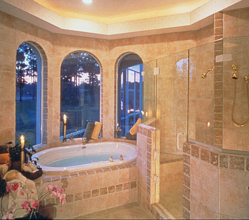 Country French House Plan Master Bathroom Photo 02 - Lawton Place European Home 047D-0058   House Plans and More