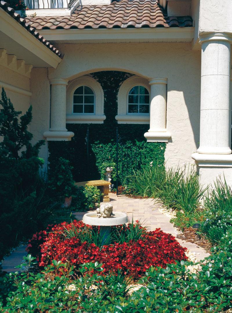 Luxury House Plan Atrium Photo - Corvina Mediterranean Home 047D-0064 | House Plans and More