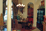 Luxury House Plan Dining Room Photo 01 - Corvina Mediterranean Home 047D-0064 | House Plans and More