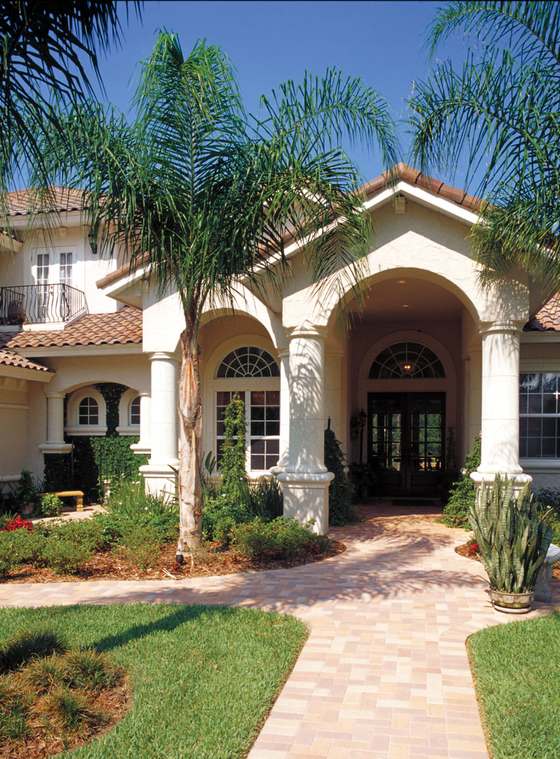 Florida House Plan Entry Photo 01 - Corvina Mediterranean Home 047D-0064 | House Plans and More