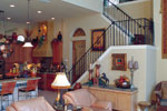 Florida House Plan Family Room Photo 01 - Corvina Mediterranean Home 047D-0064 | House Plans and More