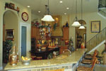 Luxury House Plan Kitchen Photo 01 - Corvina Mediterranean Home 047D-0064 | House Plans and More
