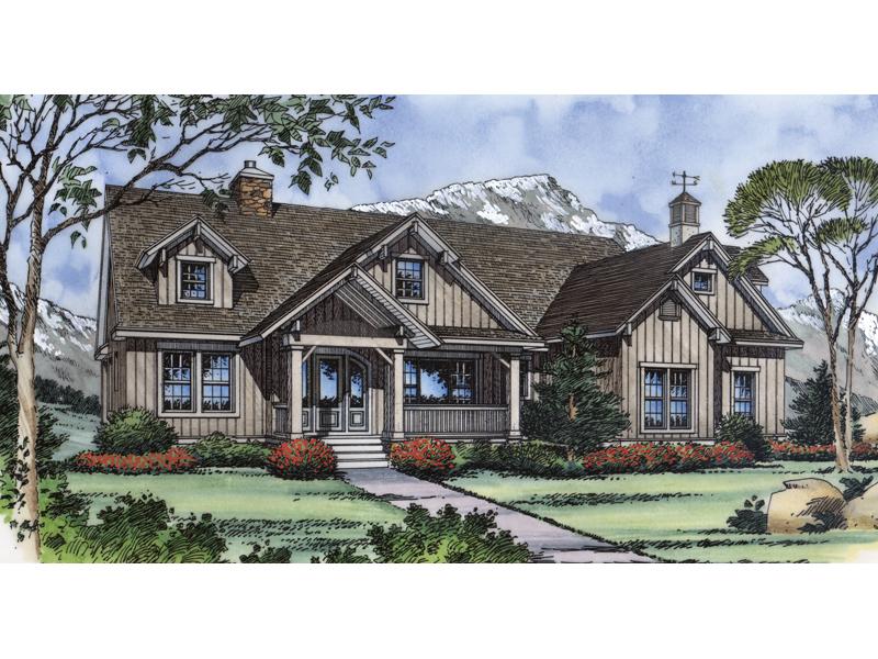 Cozy Mountain Farmhouse