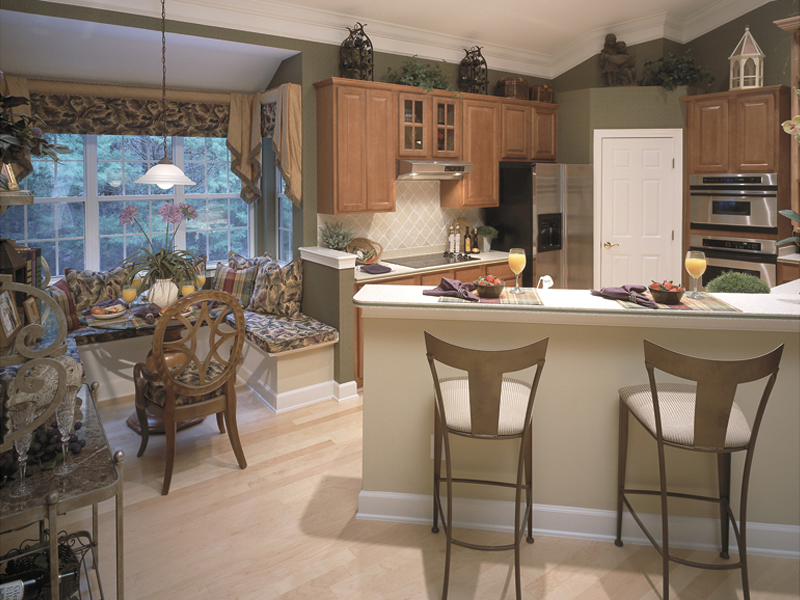 Contemporary House Plan Kitchen Photo 01 - Dorsey Park European Home 047D-0083   House Plans and More