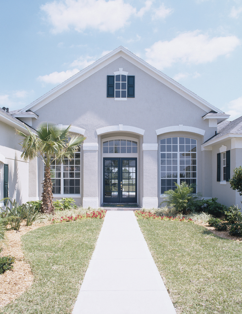 Traditional House Plan Rear Photo 01 - Palmetto Bay Sunbelt Home 047D-0146 | House Plans and More