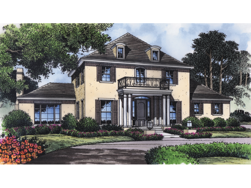 Turnbull Plantation Home Plan 047D-0171   House Plans and More on low country house plan, french style house floor plan, southern living centennial house plan, country homes open floor plan,