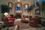 Luxury House Plan Family Room Photo 01 - Grove City French Country Home 047D-0187 | House Plans and More