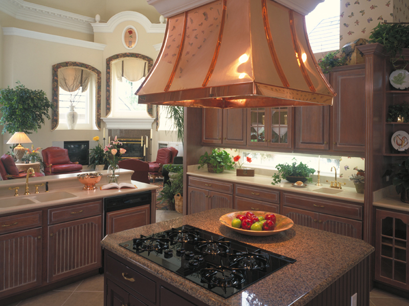 Mediterranean House Plan Kitchen Photo 01 - Grove City French Country Home 047D-0187 | House Plans and More