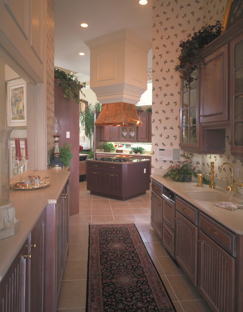 Mediterranean House Plan Kitchen Photo 02 - Grove City French Country Home 047D-0187 | House Plans and More