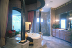 Mediterranean House Plan Master Bathroom Photo 01 - Grove City French Country Home 047D-0187 | House Plans and More