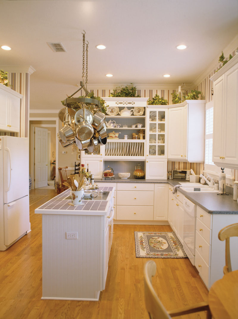 Colonial House Plan Kitchen Photo 01 - Estero Colonial Home 047D-0205 | House Plans and More