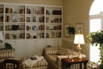 Colonial House Plan Living Room Photo 01 - Estero Colonial Home 047D-0205 | House Plans and More