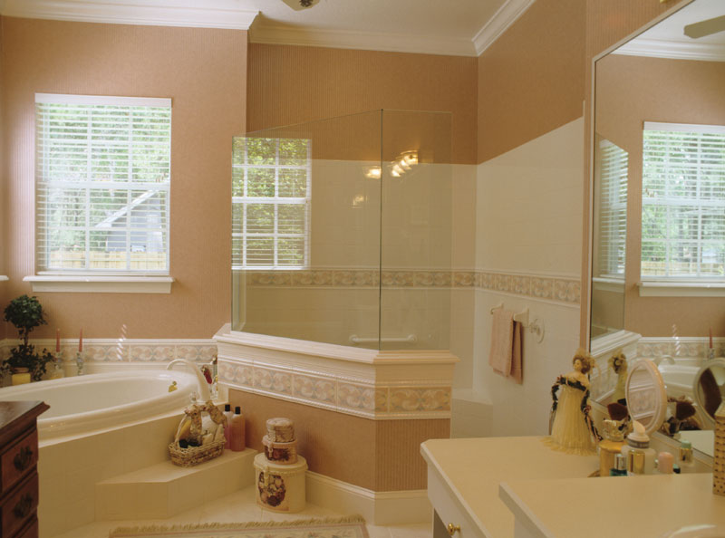 Colonial House Plan Master Bathroom Photo 01 - Estero Colonial Home 047D-0205 | House Plans and More