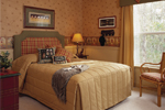 Sunbelt Home Plan Bedroom Photo 01 - Lakeport Luxury Home 047D-0211 | House Plans and More