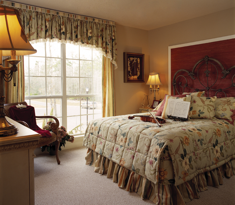 Sunbelt Home Plan Bedroom Photo 02 - Lakeport Luxury Home 047D-0211 | House Plans and More