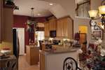 Sunbelt Home Plan Kitchen Photo 01 - Lakeport Luxury Home 047D-0211 | House Plans and More