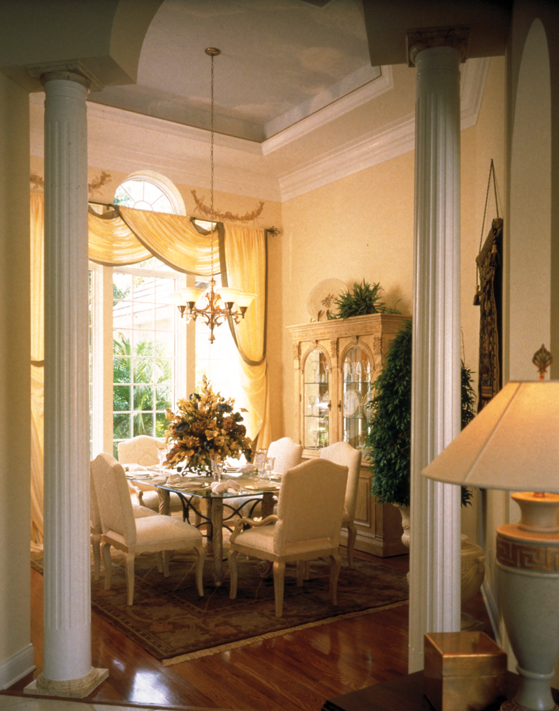 Traditional House Plan Dining Room Photo 01 - Charlotte Hollow Luxury Home 047D-0214 | House Plans and More