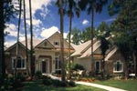 Home With Mix Of Stone And Stucco On Exterior