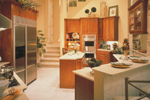 Traditional House Plan Kitchen Photo 01 - Charlotte Hollow Luxury Home 047D-0214 | House Plans and More