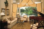 Traditional House Plan Living Room Photo 01 - Charlotte Hollow Luxury Home 047D-0214 | House Plans and More