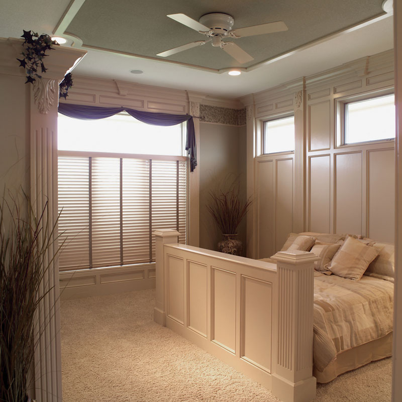 Ranch House Plan Bedroom Photo 01 - Gray Summit Traditional Home 051D-0187 | House Plans and More