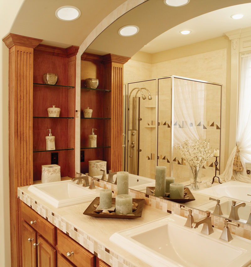 Ranch House Plan Master Bathroom Photo 01 - Gray Summit Traditional Home 051D-0187 | House Plans and More