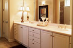 Traditional House Plan Master Bathroom Photo 01 - Parkridge European Home 051D-0188 | House Plans and More