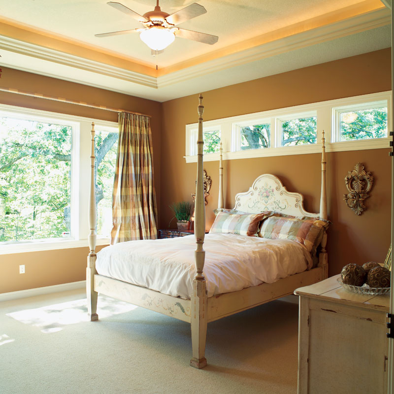 Traditional House Plan Master Bedroom Photo 01 - Parkridge European Home 051D-0188 | House Plans and More