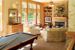 Traditional House Plan Recreation Room Photo 02 - Parkridge European Home 051D-0188 | House Plans and More