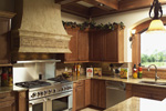 Traditional House Plan Kitchen Photo 02 - Hamburg Hill Luxury Home 051D-0544 | House Plans and More