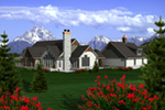 Traditional House Plan Rear Photo 01 - Robyn Country Craftsman Home 051D-0763 | House Plans and More