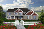 House Plan Front of Home 051D-0774