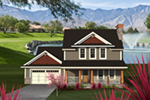 Country House Plan Front of Home - Pinecrest Craftsman Farmhouse 051D-0792 | House Plans and More