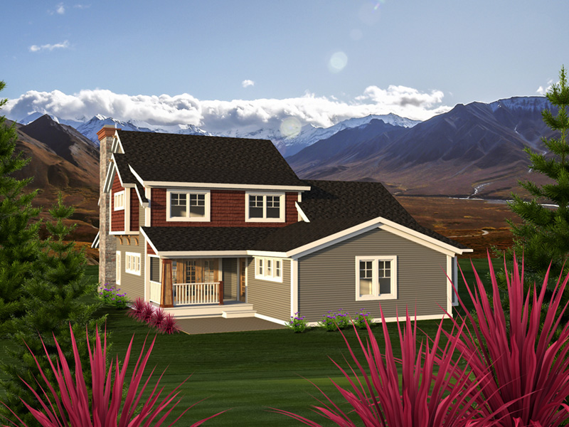 Country House Plan Rear Photo 01 - Pinecrest Craftsman Farmhouse 051D-0792 | House Plans and More