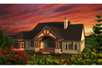 Shingle House Plan Rear Photo 01 - Madden Country Craftsman Home 051D-0795 | House Plans and More